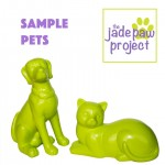 Jade Dog and Cat Sample